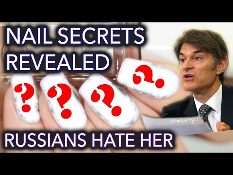 Nail art hack revealed - Russians hate her!!!