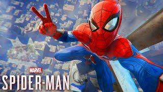 O NOVO JOGO DO HOMEM ARANHA!!! - SPIDER-MAN PS4