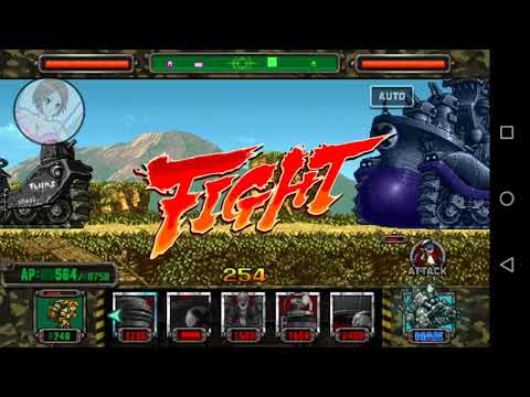 "Tiger Macha vs Unidades Bosses """"""Metal Slug Attack""""""(MSA)."