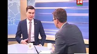 SkyWay в эфире телеканала «Беларусь 24» летом 2016