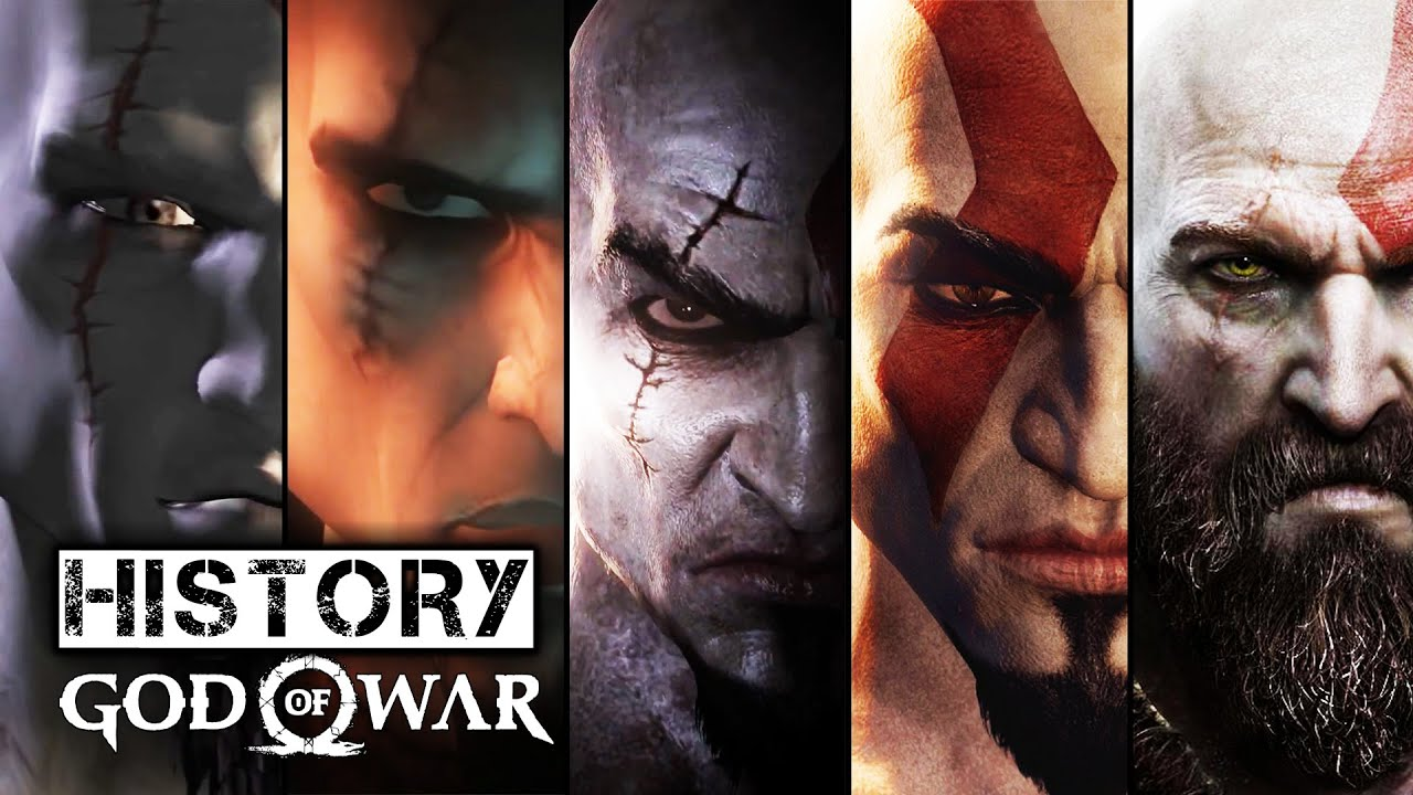 Image result for new god of war vs old god of war