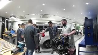 Confira uma aula do curso de Mecânica Automotiva do Senai