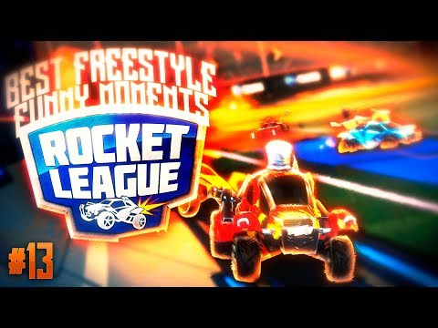 FREESTYLE BEST MOMENTS & FUNNY MOMENTS #13 | RANKED HIGLIGHTS | ROCKET LEAGUE