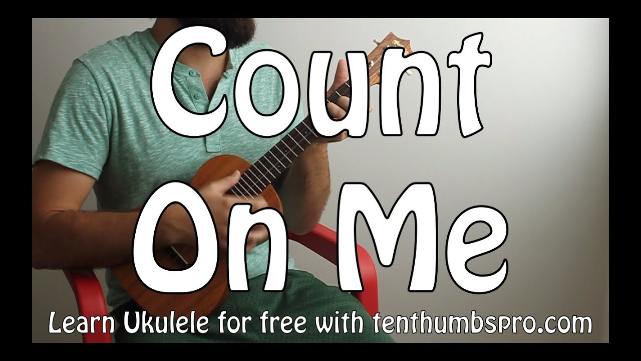Count On Me - Bruno Mars - Easy Beginner Song Ukulele Tutorial - YouTube
