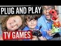 Plug and Play TV Games | With Dan and Tilly