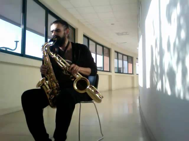 """Let's stay together"" (Alto-Tenor Sax & Beatbox / C.Y.L. IV) [N. Diminakis]"