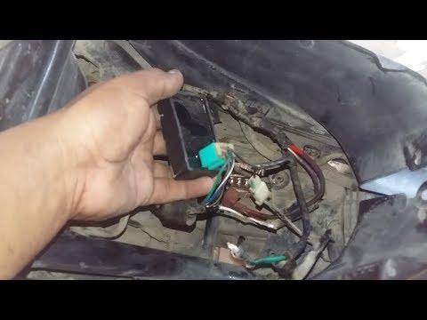 como adaptar un CDI alimentado   a bateria