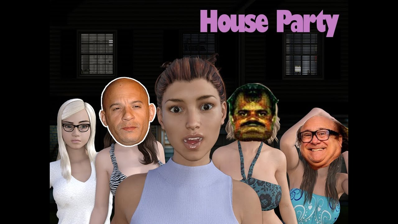 house party the game not censored