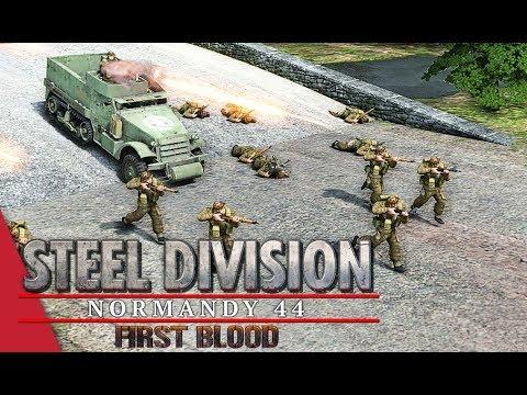 5th APT Round 1 LB! Steel Division: Normandy 44 - DuroSVK vs Oermen (Odon - River, 1v1)