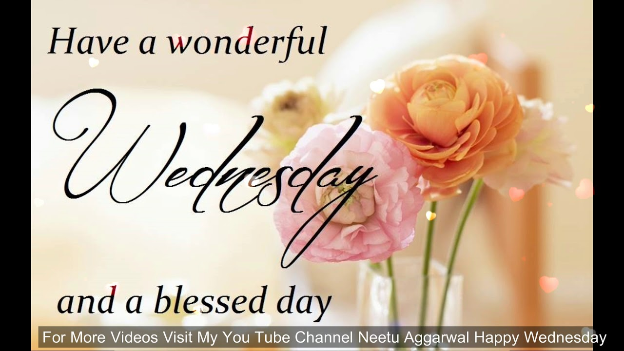 Happy Wednesday Greetings/Quotes/Blessings/Sms/Wishes ...