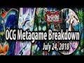 OCG Metagame Breakdown (July 24, 2018) - Thunder Thunder!! NEW TECHS (Soul Fusion)