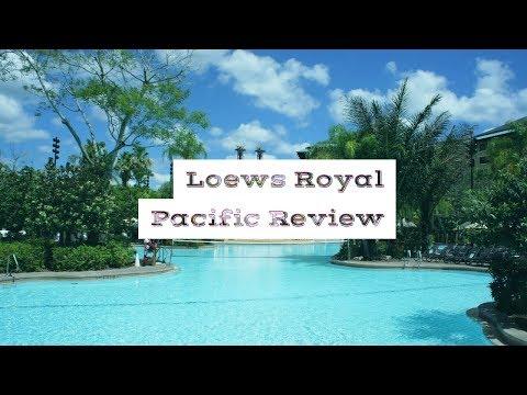 Loews Royal Pacific resort at Universal Orlando review