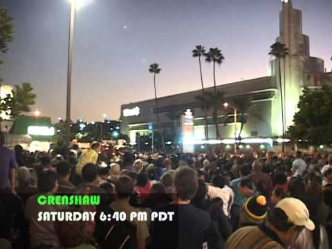 THE SPACE SHUTTLE COMES TO LOS ANGELES