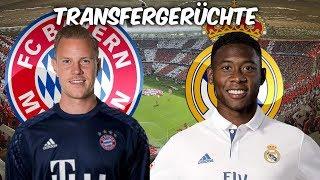 ter Stegen zu den Bayern ? Alaba zu Real Madrid ? | Transfers und Transfergerüchte 2017/18