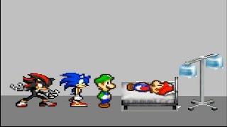 Mario Deathbed