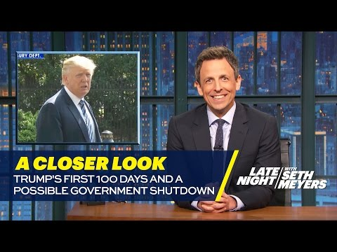 Thumbnail: Trump's First 100 Days and a Possible Government Shutdown: A Closer Look