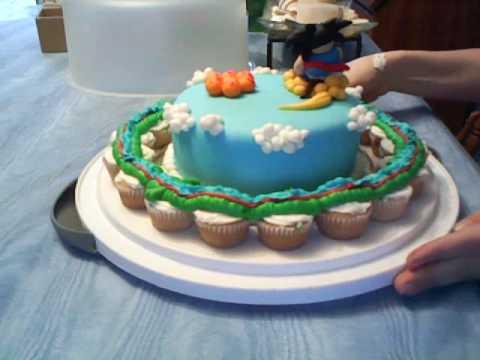 Dragon Ball Z Cake Decorations Glamorous Dragonball Cake  Youtube Design Decoration