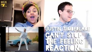 Justin Timberlake - Can't Stop The Feeling - Reaction