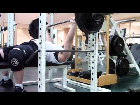 Bench Press And Shrugs