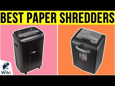 10 Best Paper Shredders 2019