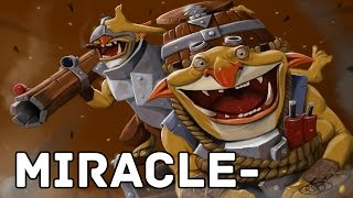 Miracle- Pro Techies Support Dota 2 Gameplay