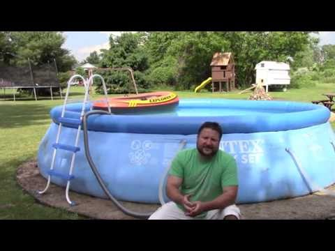 "1 yr Review of INTEX 16' X 42""  pool -1 BIG PROBLEM TO KNOW ABOUT"