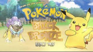 roblox  Pokemon Brick Bronze - Beta- el mejor mapa del mundo