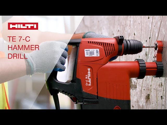 OVERVIEW of Hiltis TE 7 and TE 7-C corded SDS plus rotary hammers