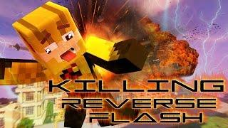 Minecraft Hello Neighbor - Killing The Reverse Flash!!