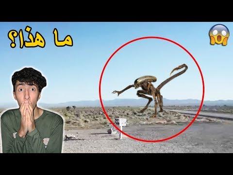 مخلوقات غريبة و مرعبة تم تصويرها عن طريق الصدفة - مقطع حقيقي سيخيفك !