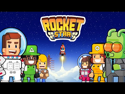 Rocket Star - Idle Space Factory Tycoon Games - Apps on