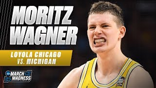 Michigan's Mortiz Wagner powers the Wolverines to the National Championship Game