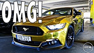 GOLD CHROME FORD MUSTANG: TREASURE HUNT IN GERMANY!!