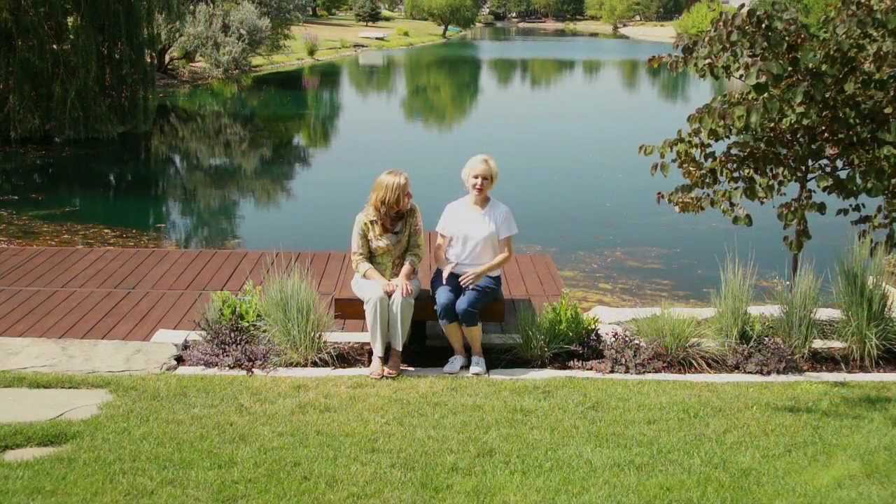 Minimalist Landscaping on a Waterfront - YouTube on Lakefront Patio Ideas id=27785