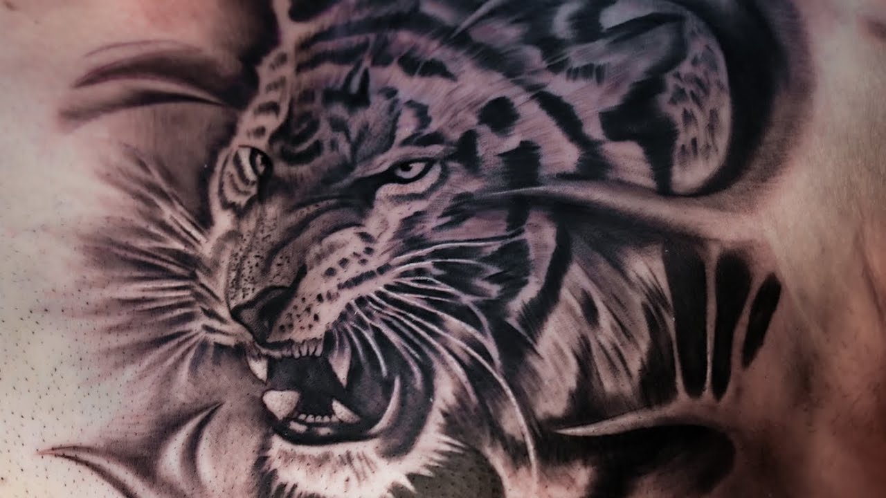 The lion king tattoo (Simba)  | Tattoo | Kamz Inkzone 2020 |