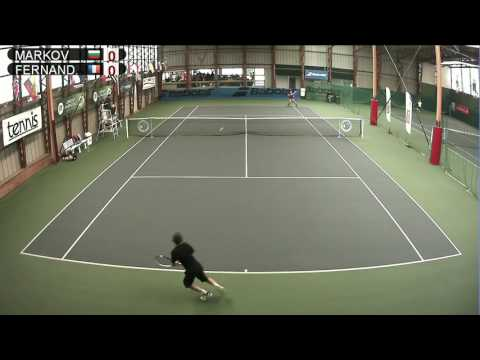 MARKOV BUL vs FERNANDES FRA  Open Super 12 Auray Tennis  Court 2