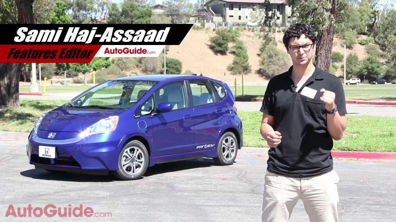 Marvelous 2013 Honda Fit EV Review