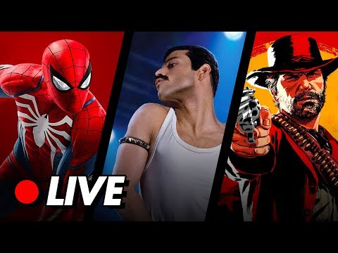 🔴TN LIVE 84: Review de Bohemian Rhapsody, Homem-Aranha PS4 e Red Dead Redemption 2