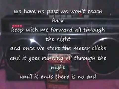 Cyndi Lauper - All Through The Night (Lyrics)