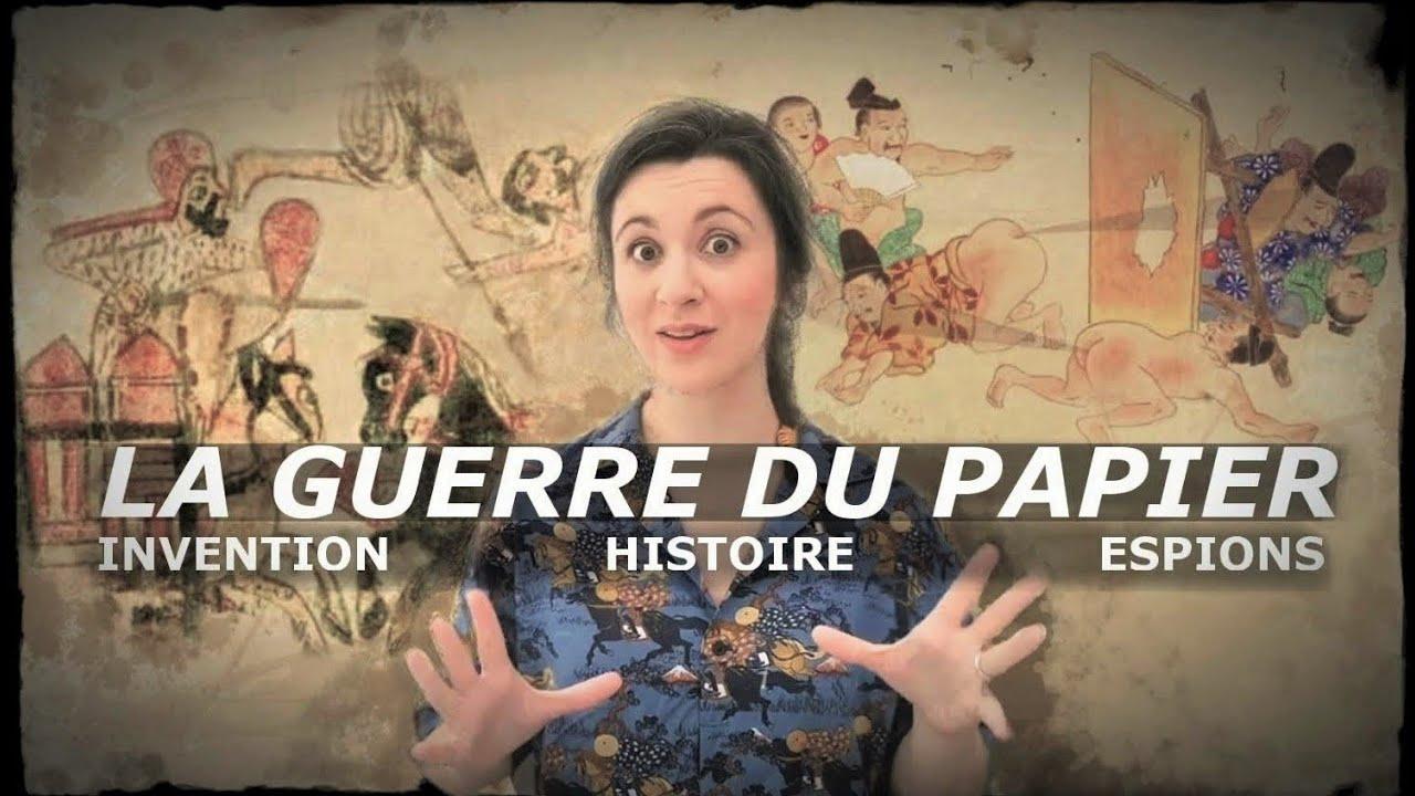 Nouvelle vidéo : LA GUERRE DU PAPIER