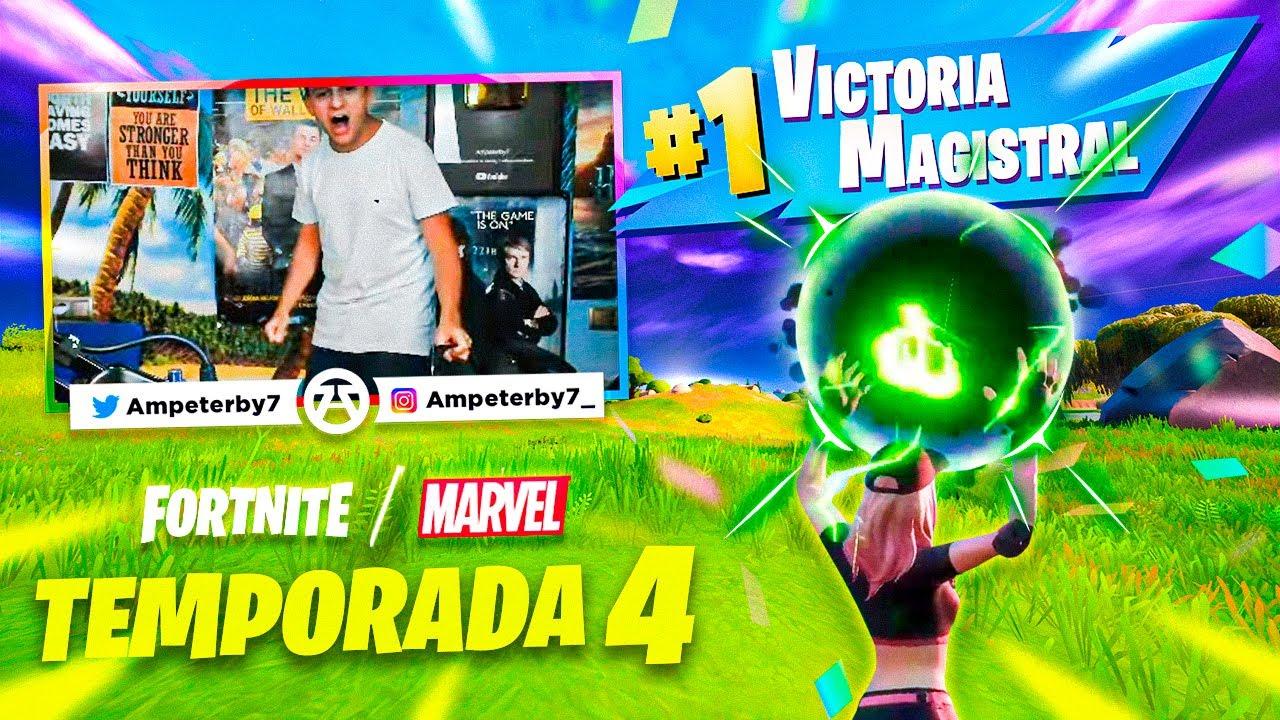 Download MI PRIMERA VICTORIA EN LA TEMPORADA 4 DE FORTNITE | Ampeterby7