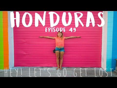 Hitchhiking Honduras | SOLO FEMALE TRAVELER | Ep. 49 | Gracias