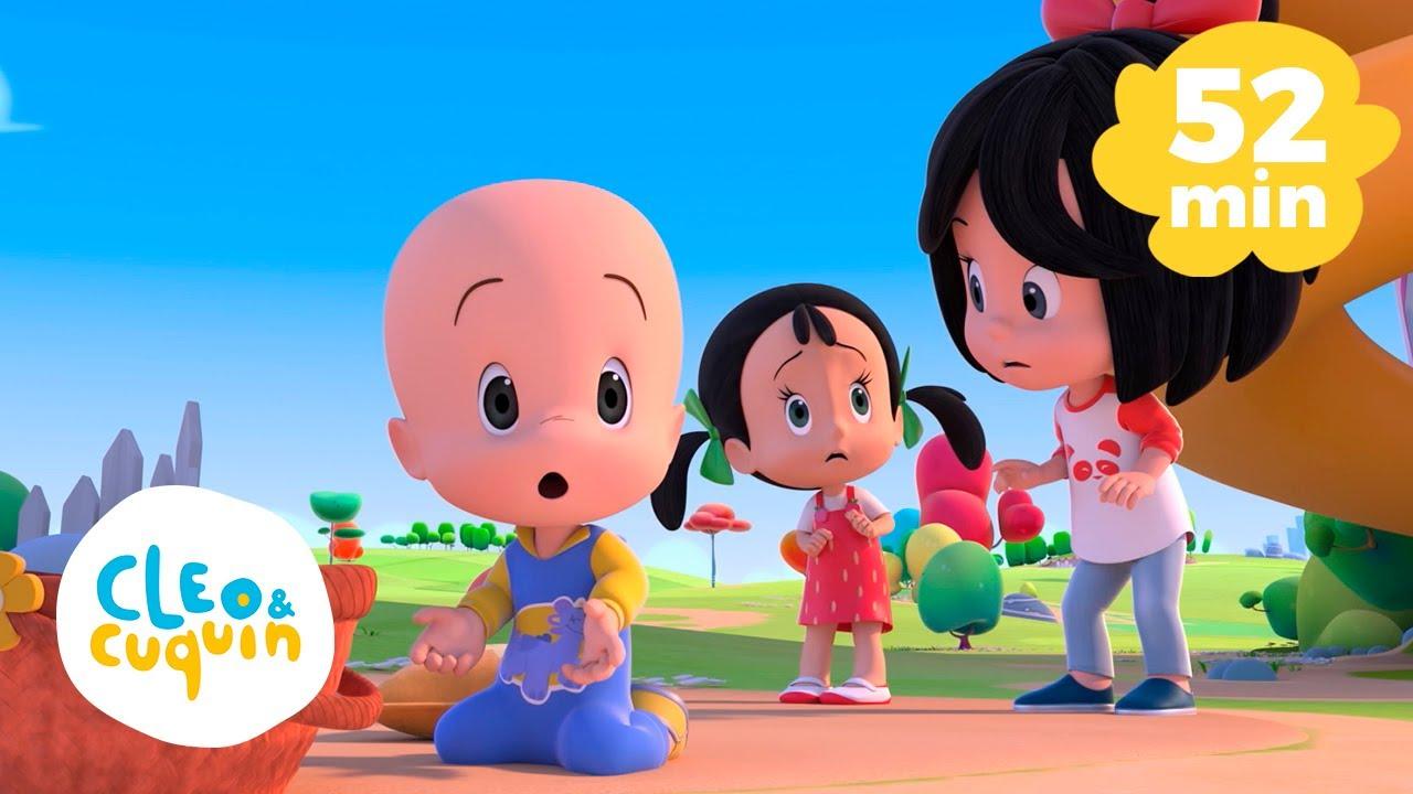Humpty Dumpty y más canciones infantiles con Cleo y Cuquín | Familia Telerin