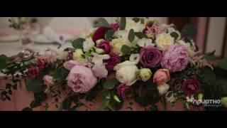 Свадебное оформление в Imperial Park Hotel&SPA(Нежное оформление свадьбы в Империал Парк Отеле и СПА! Оформление стола президиум, задний фон, композиции..., 2016-07-15T16:33:59.000Z)