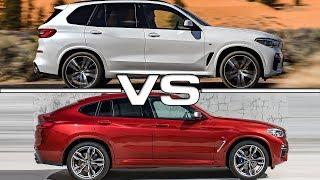 2019 BMW X5 vs 2019 BMW X4 Technical Specifications