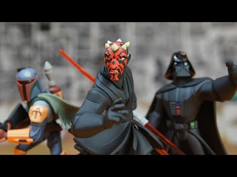 Дарт Мол, Боба Фетт, Дарт Вейдер - Минифигурки Звездные войны - Игрушки Star Wars