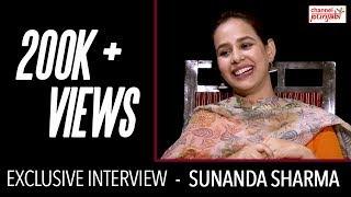 Sunanda sharma   exclusive interview   channel punjabi