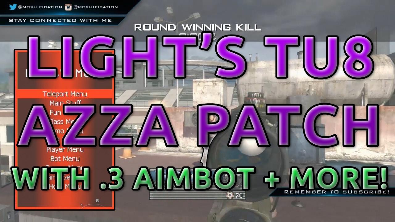 MW2 | TU8 | Light's Azza Patch | LightLobbies Azza/Superman Mod Menu |  3  Aimbot | +More!
