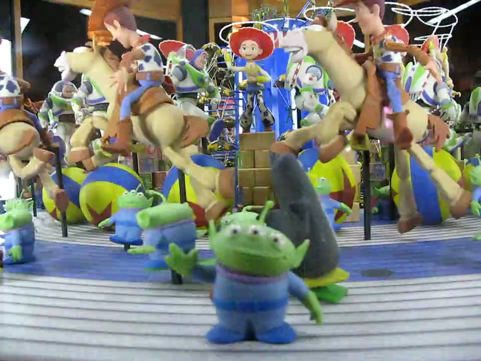 Disney Pixar Toy Story Animation Carousel Zoetrope Demo1 Youtube