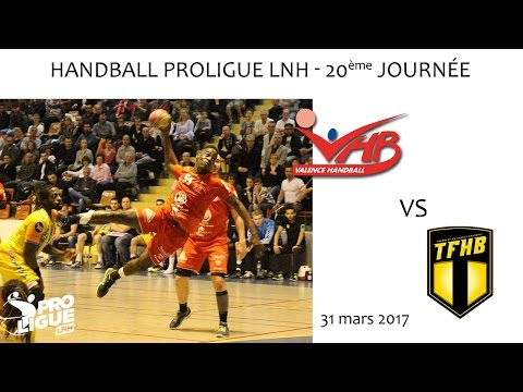 Handball Proligue LNH journée 20 Valence HB vs Tremblay HB